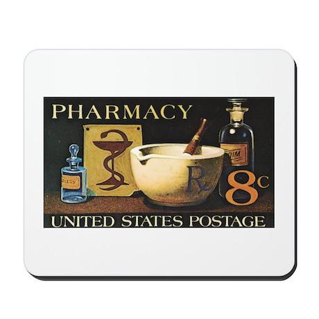 Pharmacy Stamp Mousepad
