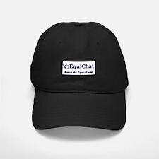 EquiChat.com Equestrian Baseball Hat