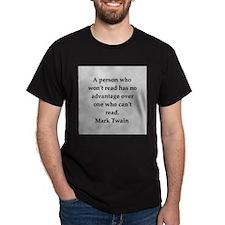 Mark Twain quote T-Shirt