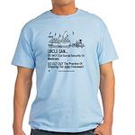 Dual Image Light Color T-Shirt