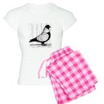 Starling Pigeon Silver Women's Light Pajamas