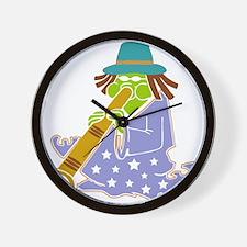 Didgeridoo17Mb.png Wall Clock