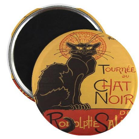 """Le Chat Noir 2.25"""" Magnet (10 pack)"""