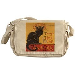 Le Chat Noir Messenger Bag
