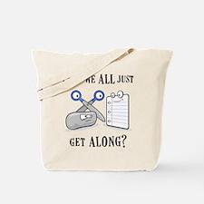 """Rock-Paper-Scissors"" Tote Bag"