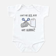 """Rock-Paper-Scissors"" Infant Bodysuit"