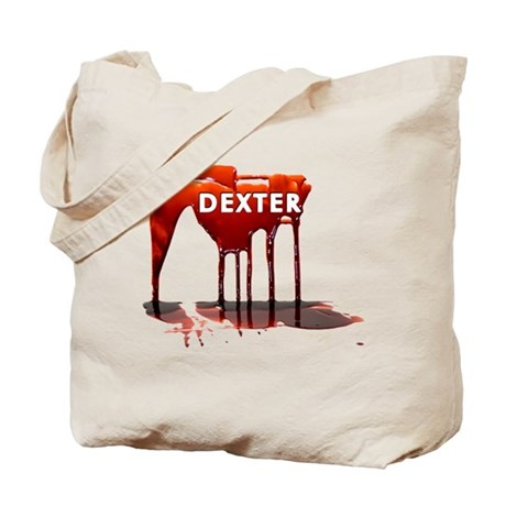 Dexter Blood Drips Tote Bag