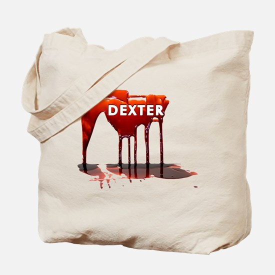 Dexter Blood Drips Tote Bag