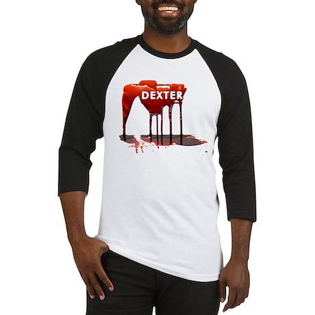 Dexter Blood Drips Baseball Jersey