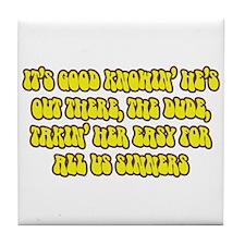 BL: Sinners Tile Coaster