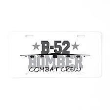 B-52 Aviation Combat Crew Aluminum License Plate