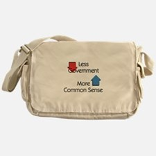 Less Government Messenger Bag