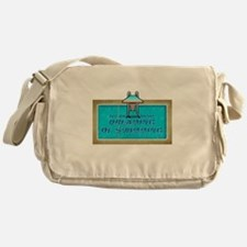 Dreaming of Swimming Messenger Bag
