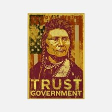 Trust Government Rectangle Magnet
