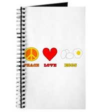 Peace Love Eggs Journal
