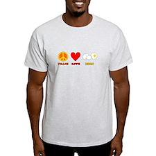 Peace Love Eggs T-Shirt