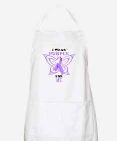 I Wear Purple for Me Apron