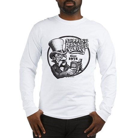 Selling Banned Books Long Sleeve T-Shirt
