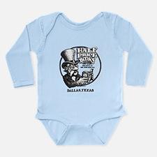 """Vintage HPB"" Long Sleeve Infant Bodysuit"