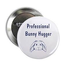 Bunny Hugger Button