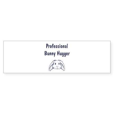 Bunny Hugger Bumper Sticker