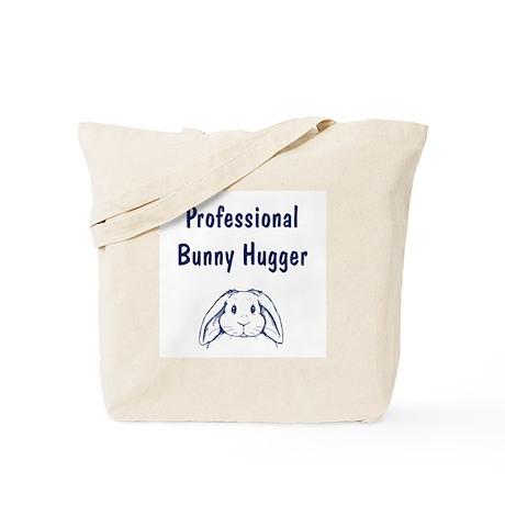 Bunny Hugger Tote Bag