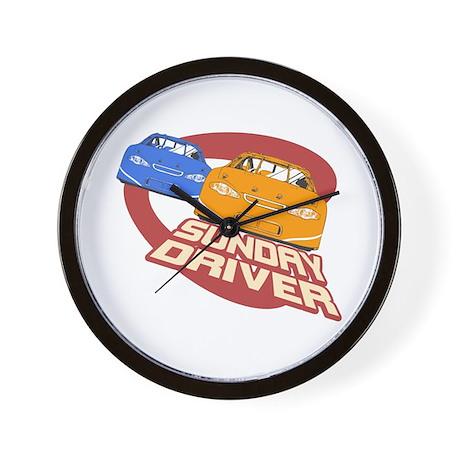 Sunday Driver II Wall Clock
