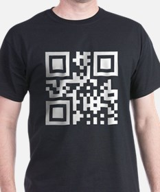 QR Code Smiley Happy Face T-Shirt