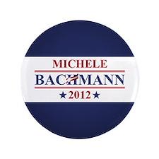 """Michele Bachmann 2012 3.5"""" Button"""