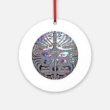Te Ao Ornament (Round)