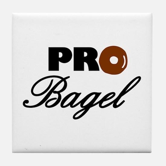 Pro Bagel Tile Coaster