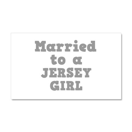 Married to a Jersey Girl Car Magnet 20 x 12