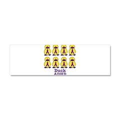 ADHD Awareness Ribbon Ducks Car Magnet 10 x 3