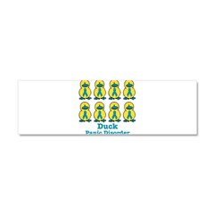 Panic Disorder Awareness Ribb Car Magnet 10 x 3