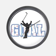 GOAL! Hockey Wall Clock