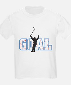 GOAL! Hockey Kids T-Shirt