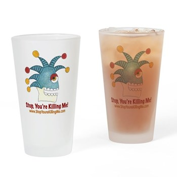 SYKM Drinking Glass