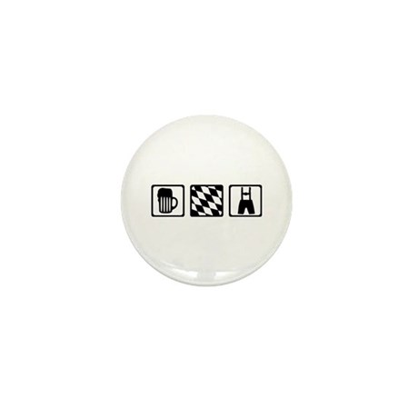 Bavaria Germany Mini Button (10 pack)