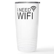I need wifi Travel Mug
