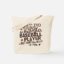 Baseball Player (Funny) Gift Tote Bag