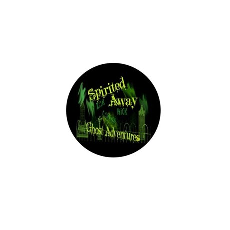 Ghost Adventures Mini Button