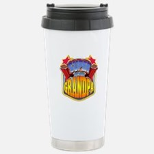 Super Grandpa Stainless Steel Travel Mug