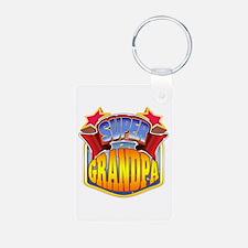 Super Grandpa Keychains