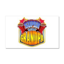 Super Grandpa Car Magnet 20 x 12