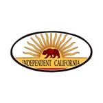 Independent California Patches
