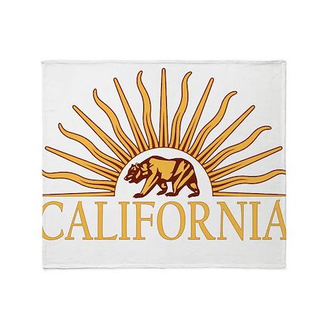California Throw Blanket