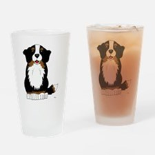 Bernese Mountain Dog Drinking Glass