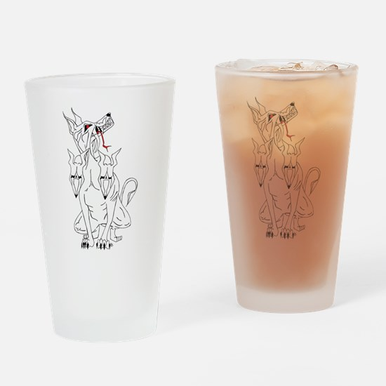Cerberus Hellhound Drinking Glass