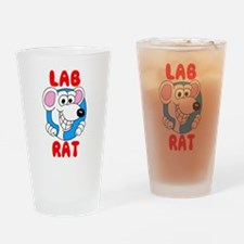 Science Lab Rat Drinking Glass