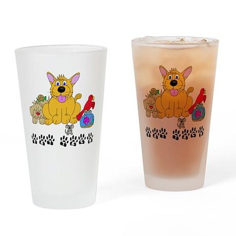 Pet Vet Tech Drinking Glass